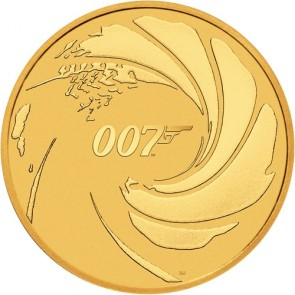 1 oz Gold Royal Mint James Bond 007 Coin 2020
