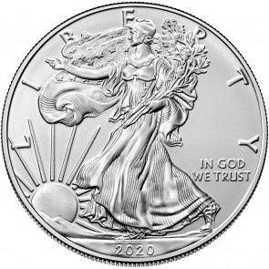 1 oz Silver American Eagle Coin 2020