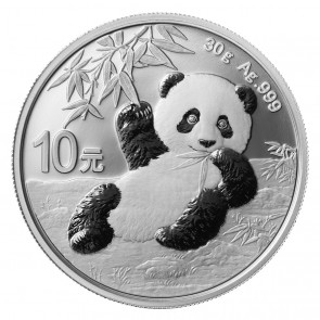 30 gram Silver Chinese Panda Coin 2020