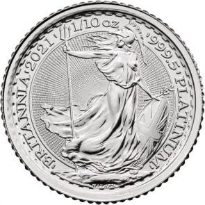 1/10 oz Platinum Britannia Coin 2021