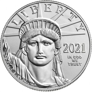 1 oz Platinum Eagle Coin 2021