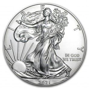 1 oz Silver American Eagle Coin 2021