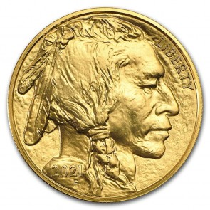 1 oz Gold US Buffalo Coin 2021