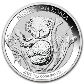 1 oz Silver Perth Mint Koala Coin 2021