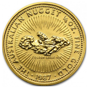 1/4 oz Gold Perth Mint Nugget Coin