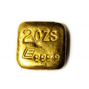 2 oz gold Engelhard Bar