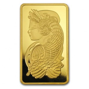 10 oz Gold PAMP Suisse Fortuna Bar