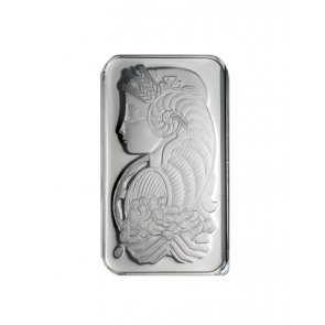 1 oz Platinum PAMP Fortuna Bar - No package