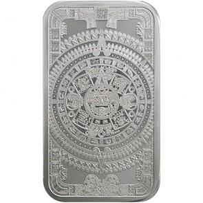 5 oz Silver Aztec Calendar Bar