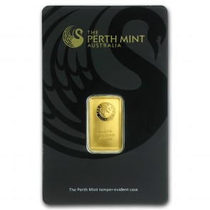 5 gram Gold Perth Mint Bar