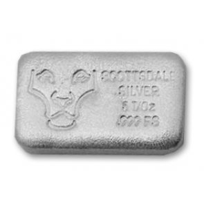 5 oz Silver Scottsdale Hand Poured Bar