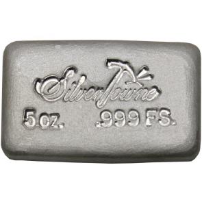 5 oz Silver SilverTowne Handpoured Bar