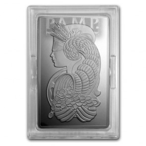250 gram Silver PAMP Suisse Fortuna Bar