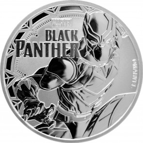 1 oz Silver Marvel Series Black Panther Coin 2018
