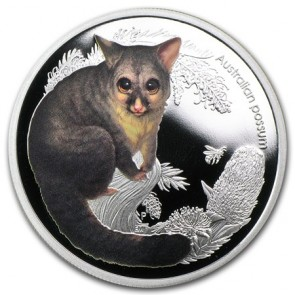 1/2 oz Silver Australain Bush Babies Possum Coin 2013