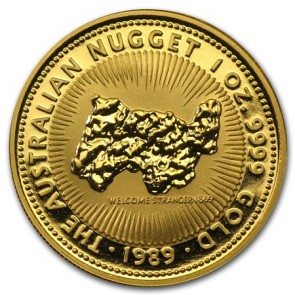 1 oz Gold Perth Mint Nugget Coin