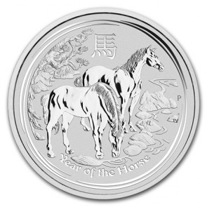 1 kilo Perth Mint Year of the Horse Coin 2014