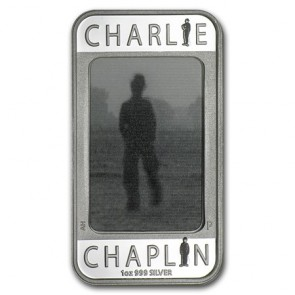 1 oz Silver Charlie Chaplin 100 Yrs of Laughter Coin 2014