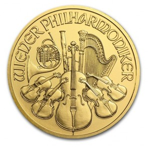 1/4 oz Gold Austrian Philharmonic Coin Pre Year