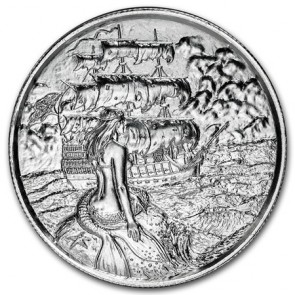 2 oz Silver Siren Ultra High Relief Round