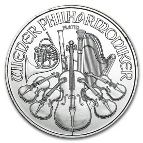 1 oz Platinum Philharmonic Coin 2020