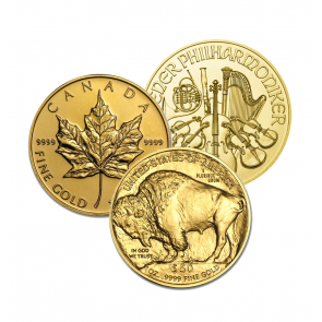 1 oz Various Gold Coins