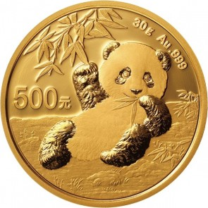30 gram Gold Chinese Panda Coin 2020
