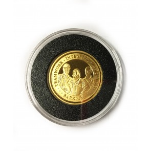 1/2 oz gold Barrick coin