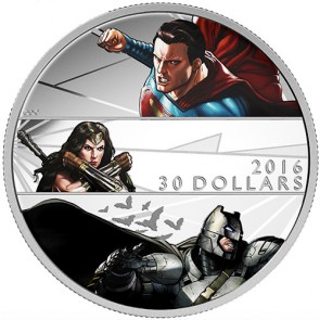 2 oz Silver Batman v Superman: Dawn of JusticeTM Coin 2016