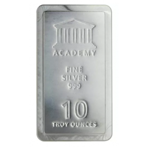 10 oz Silver Academy Stacker Bars