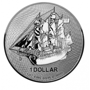 1 oz Silver Cook Island Bounty Coin 2020