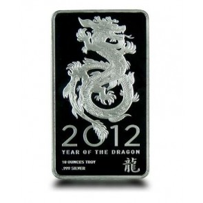 10 oz Silver NTR Dragon Bar