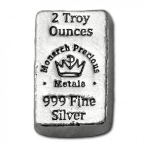 2 oz Silver Monarch Precious Metal Lil' Chunky Bar