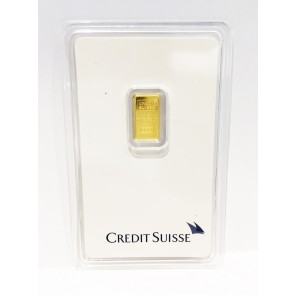 1 gram Gold Credit Suisse Bar