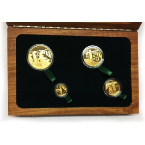 Gold Natura Series - Meerkat 4 Coin Set 2011