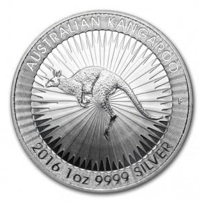 1 oz Silver Perth Mint Australian Kangaroo Coin 2016