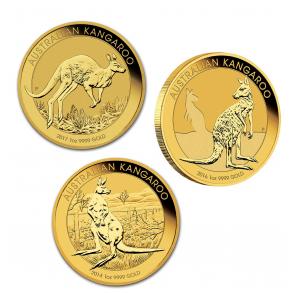 1 oz Gold Perth Mint Kangaroo Coin