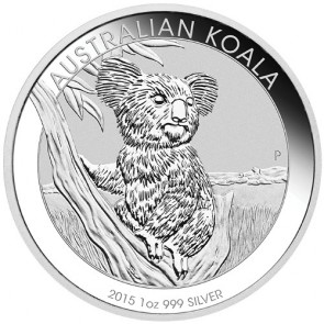 1 oz Silver Perth Mint Koala Coin 2015