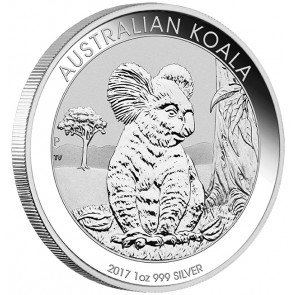 1 oz Silver Perth Mint Koala Coin 2017