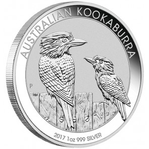 1 oz Silver Perth Mint Kookaburra Coin 2017