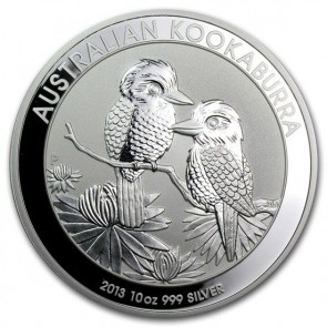 10 oz Silver Perth Mint Kookaburra Coin 2013