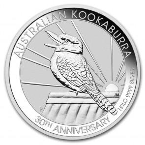 1 Kilo Silver Perth Mint Kookaburra Coin 2020