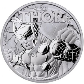 1 oz Silver Marvel Series Thor Coin 2018