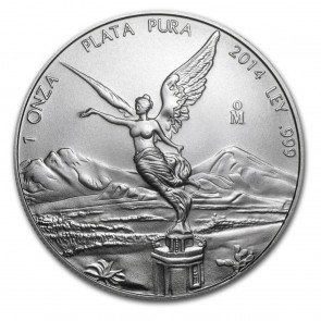 1 oz Silver Mexican Libertad Coin Pre-Year