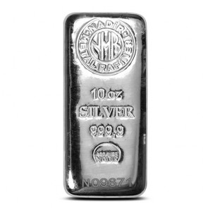 10 oz Nadir Silver Bars - with COA