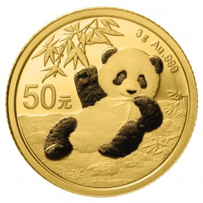 3 gram Gold Chinese Panda Coin 2020