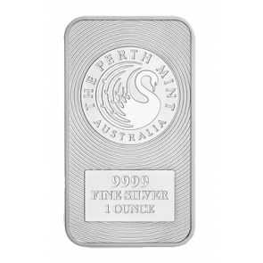 1 oz Silver Perth Mint Kangaroo Bar