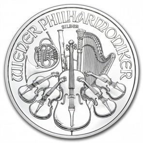 1 oz Silver Austrian Philharmonic Coin Pre-Year