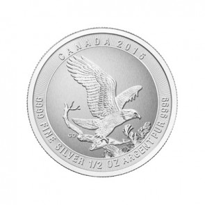 1/2 oz Silver Bald Eagle Coin 2015