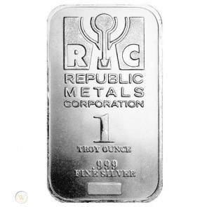 1 oz RMC Silver Bars